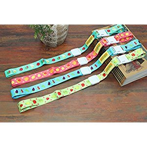Adjustable Baby Sippy Cup Holder Strap, Soothie Pacifier Holders Toys Leash For Stroller Pack of 4