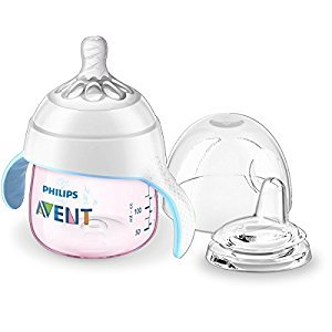 Philips AVENT My Natural Trainer Cup, 5 Ounce, Pink