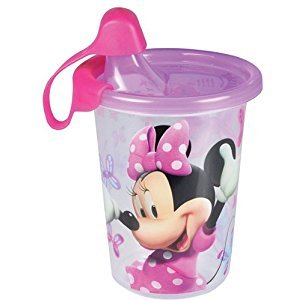 The First Years Disney Minnie Mouse Take and Toss, 9-Ounce Sippy Cup, 3-Pack
