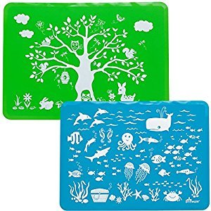 Brinware Placemat Set 2 Pack - Land and Sea