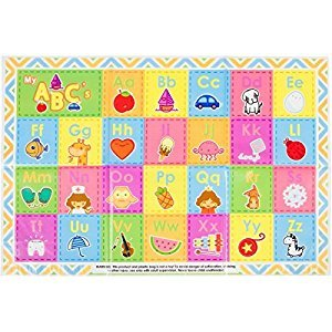 - Disposable Placemats - Children's ABC Table Topper by EAT SMART