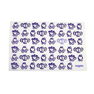 oogaa Silicone Placemat, Purple