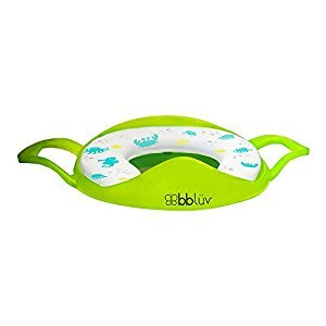 bblüv - Pöti - Padded Toilet Seat Cover for Potty Training (Lime)