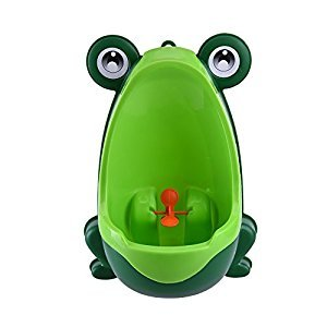 Redcolourful Lovely Froggy Urinal Children Potty Toilet Kids Potty Training Urinal(Green)