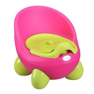 Beiliya Baby Egg Potty With Cover, Child Potty Trainer,Pink