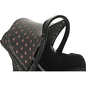 HOOD CANOPY FOR MAXI COSI CABRIOFIX AND MAXI COSI PEBBLE FLUOR HEART BY JANABEBE®