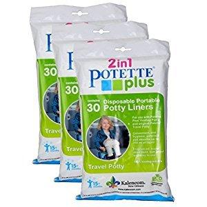 Kalencom Potette Plus Liners, 90 Count