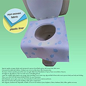 Premium Toilet Seat Covers (5 Pk)