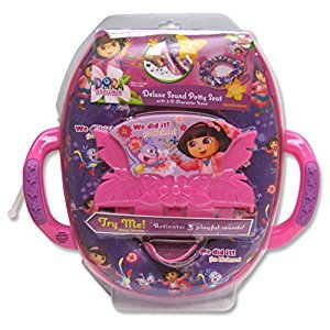 Dora the Explorer - Adventures Ahead! Deluxe Sound Potty Seat