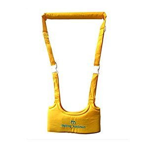 Baby Walking Assistant /Handheld Baby Walker Toddler,Yellow