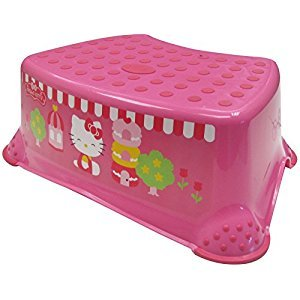 Ginsey Hello Kitty Deluxe Step Stool