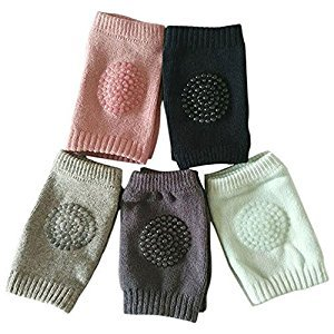 Infant Toddler BABY Kneepads Knee Elbow Pads Crawling Safety Protector , 5 Pairs