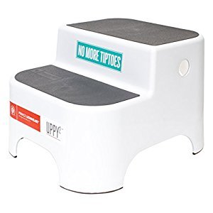 Prince Lionheart UPPY2 Step Stool, Galactic Grey