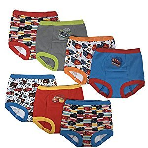 Handcraft Disney Cars Boys Potty Training Pants Underwear Toddler 7-Pack Size 2T 3T 4T