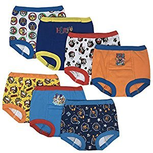 Handcraft PAW Patrol Boys Potty Training Pants Underwear Toddler 7-Pack Size 2T 3T 4T