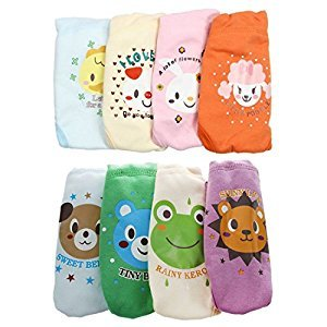 Potty Training Pants - SODIAL(R)4 X Baby Toddler Girls Boys Cute 4 Layers Waterproof Potty Training Pants reusable 3-4 Years
