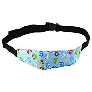 Baby Kids Car Seat Neck Relief And Head Support Adjustable Head Protect Fastening Belt ( PATTERN : B(Car) )
