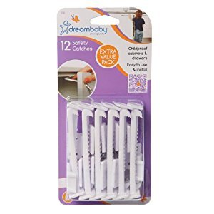 Dreambaby Safety Catches, 12 Count
