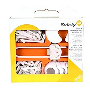 Safety1st - Doors and Drawers Childproofing Kit - 26 Pieces, White