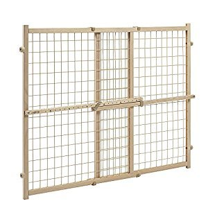 Evenflo Position and Lock Wide Doorway Gate, Tan