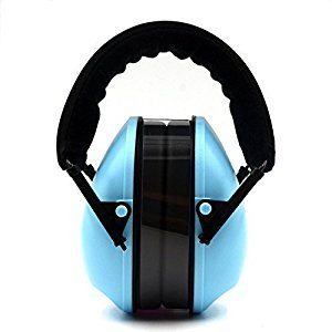 Kids Earmuffs, Alice Dreams Baby ear muffs Infant Hearing Protection Noise Reduction sound canceling Ear Defenders cups for children child (blue)