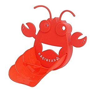 [Lobster] Cute Cartoon Faucet Extender Sink Handle Extender for Kids