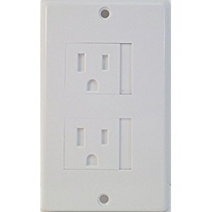Safe Plate Electrical Outlet Covers Decora, White [Baby Product]