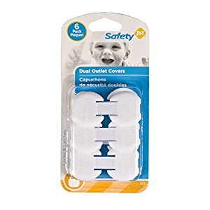 Safety 1st Dual Outlet Plugs (6 Pack)