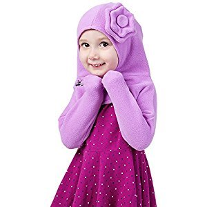 Olie The Minkey Flower Cover, Purple, 24-36 Months