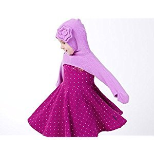 Olie The Minkey Flower Cover, Purple, 3T-4T