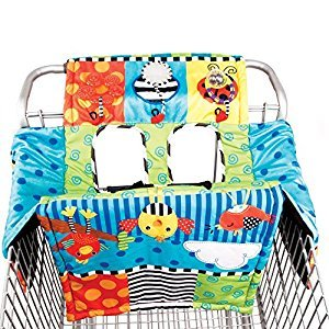 Sassy Sensory Shopping Cart Cover