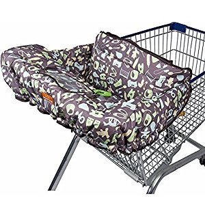 shopping cart cover for baby, infant, innovation 2015, 100% polyester indispensable baby accessories to protect from dirt & germs. with free stroller hooks. Save your baby a trip to the doctors!