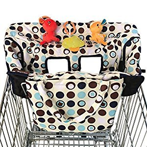 Shopping Cart Cover for Baby Used in High Chair As Well, Enhance Comfort & Safety for Your Little One Now!