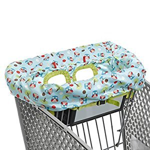 Skip Hop Zoo Shopping Cart & High Chair Cover - Owl