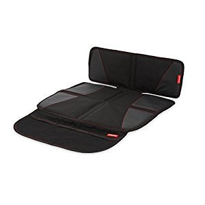 Diono Super Mat Seat Protector with Organizer, Black