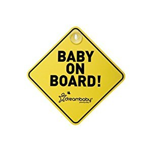 Dreambaby L211 Baby on Board Sign
