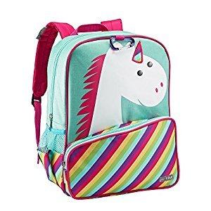 JJ Cole Toddler Backpack, Unicorn, Pink