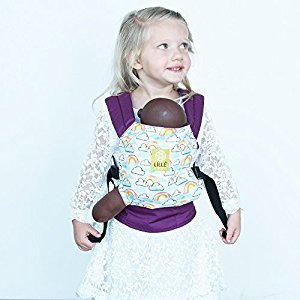 LILLEbaby Doll Carrier - Rainbow and Smiles