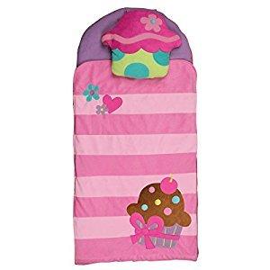 Stephen Joseph Cupcake Nap Mat, Pink/Purple