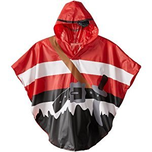 Stephen Joseph Little Boys Rain Poncho, Pirate, One Size