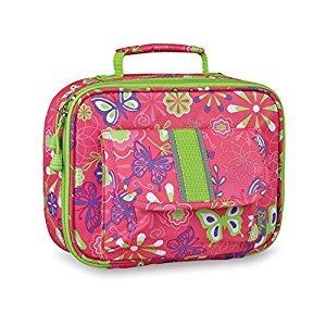 Bixbee Kids Butterfly Garden Lunchbox, Pink