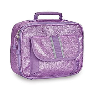 Bixbee Kids Sparkalicious Lunchbox, Purple