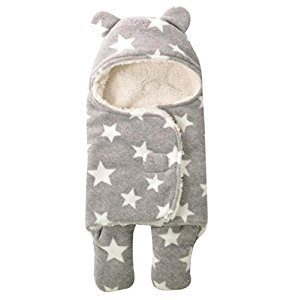 October Elf Newborn Infant Baby Thicken Sleeping Bag Blanket Wrap For Autumn and Winter (S(25.6