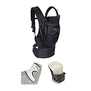 Onya Baby Infant to Toddler Bundle - Outback Baby Carrier - Jet Black