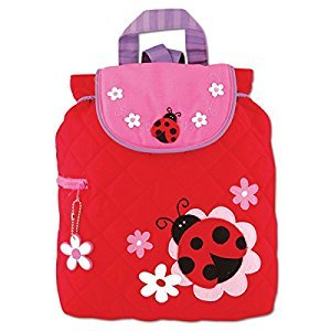 Stephen Joseph Ladybug Quilted Backpack, Multi, One Size