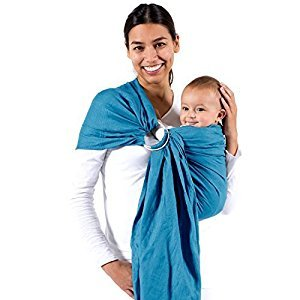 Beco Baby Carrier - Cotton Ring Sling in Ocean