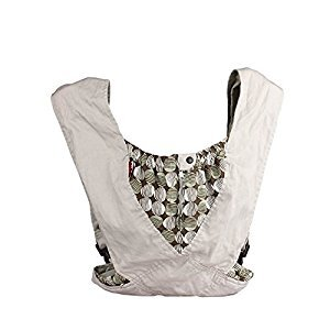 Cuby Cotton Baby Wrap X-type Baby Sling Carrier Grey