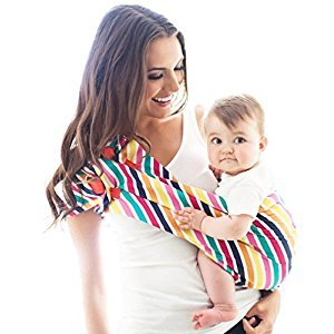 HOTSLINGS Adjustable Pouch Baby Carrier Sling, Regular, Multi-Color