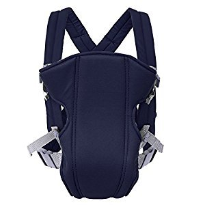 Infant Baby Carrier Backpack Mom Front Carrying Sling Seat Bag Wrap Summer 3In 1,Navy Blue YYDZJ
