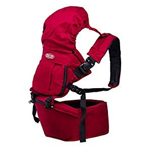 Multifunction Safety Comfort Harness Baby Kid Toddler Infant Child Newborn Outdoor Carrier Hipseat - Dark Red